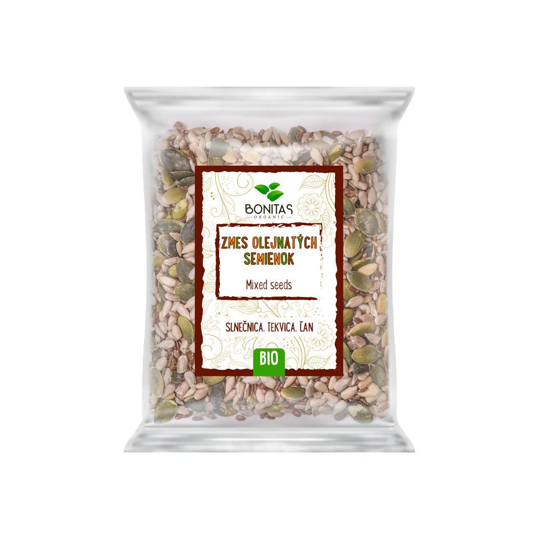 Zmes olejnatých semienok